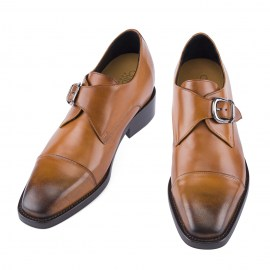 single monk elevator shoes